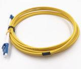깡통을%s 광섬유 접속 코드, LC-LC 쌍신회로, 극성 크로스오버 및 통신망