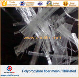 Polypropylen-Ineinander greifen-Faser für Beton und Mörtel