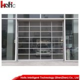 Автоматическая высокоскоростная сползая дверь гаража с алюминиевым сплавом