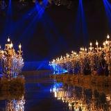 [إيوروبن-ستل] حديث بلّوريّة شمعدان طاولة منزل زخرفيّة زجاجيّة [كندل هولدر] طاولة [ودّينغ سرموني] رومانسيّ بلّوريّة زهرة حامل قفص