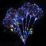 Stander를 가진 Bobo 풍선 LED Xmas 끈 빛