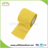 Fasciatura coesiva Mixed non tessuta elastica di qualità Premium