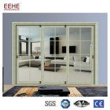 Portes en verre en aluminium lourdes de pli de Bi de portes de pliage