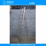 Escada de alumínio do metal do jardim da soldadura agronómica de Widen&Single Rod