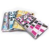 Spirale imprimé couleur personnalisée à l'école portable PP Planner