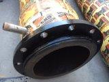 Flexible d'aspiration de pompe à eau flexible en caoutchouc noir