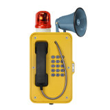 Caixa de atendimento Emergency da borda da estrada, telefone impermeável ao ar livre, telefone Emergency da associação