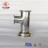 SS304/SS316L de aço inoxidável sanitárias da válvula de purga do ar