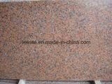 G562 mais barato Granito Maple Leaf Passo de granito vermelho vaidade e revestimento de parede superior