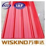 Q235/T345 Folha de aço corrugado