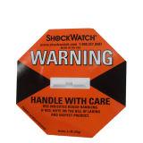 Indicador de inclinación Shockaction Etiqueta para la reducción de producto