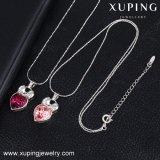 43268 Xuping Moda 2016 Las cadenas de último diseño collar hecho con cristales de Swarovski para regalo de novia
