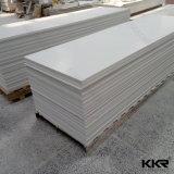 12mm Gletscher-weiße künstliche feste Oberflächensteinplatte