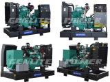 휴대용 Cummins 디젤 엔진 4b3.9-G1 힘 25 kVA 발전기