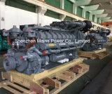 2500kVA 2000KW de puissance moteur britannique veille pilotés Générateur Diesel