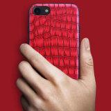 iPhone6 6sのための卸し売り薄い実質の自然な石造りのベニヤシートのモザイク大理石の電話箱