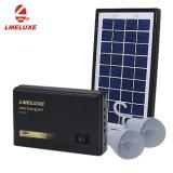 3Wホームおよび携帯電話の充満機能のための再充電可能なLEDの太陽系ライト