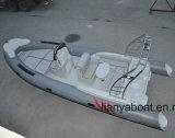 Barco inflable de la mejor costilla de la calidad de Liya 22feet con el motor para la venta