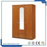بسيطة بيضاء خزانة ثوب مقصورة [أرموير] لأنّ غرفة نوم أثاث لازم مع ساحب