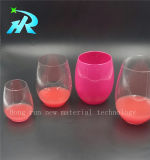10oz Pet minuscule petite tasse en verre de vin