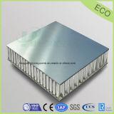 La placa con el panal de aluminio pulido y duradero para la construcción de la Decoración