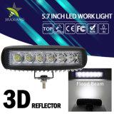 Auto 6.3inch inundación Spot portátil 18W luz LED de trabajo
