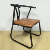 Im Freien Handelsgaststätte-Kaffee-Möbel-Metall, das Stuhl speist
