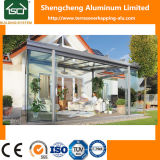 Стеклянный Sunroom с алюминиевыми рамкой и раздвижной дверью