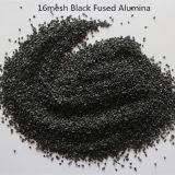 Наждачной бумагой сырья коричневый / черный песок и глинозема с плавким предохранителем порошок наждачной бумагой