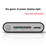2018 Hot 20000mAh Banco de potencia de carga rápida de la batería externa cargador inalámbrico Powerbank Teléfono móvil portátil para el iPhone 8 plus X
