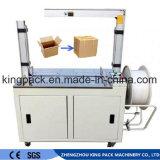 Banheira de venda automática máquina de cintas de caixa de papelão da embalagem