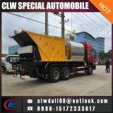6*4 HOWOのアスファルト販売のための8cbmアスファルトタンクが付いている同期砂利のシーリングトラック