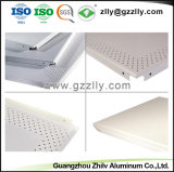 Venta caliente acústico de absorción de sonido en el techo de aluminio para banco