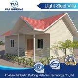 동쪽 구조 살기를 위한 호화스러운 가벼운 강철 별장 집