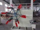 mecanismo de botes giratorios 16mm-32mm del tubo del PE de los PP de la Doble-Estación/máquina de enrollamiento