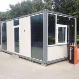 Camera modulare prefabbricata moderna del contenitore