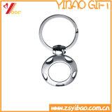 Beau trousseau de clés fait sur commande en métal de logo pour le souvenir (YB-LY-K-30)