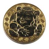 Nouveau produit Hotsell Cheap Logo personnalisé pièce en or 3D