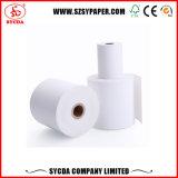Carrete de papel térmico blanco para recibir el rollo de papel