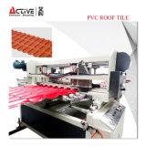 Высокоскоростная плитка крыши PVC пластмассы делая машину