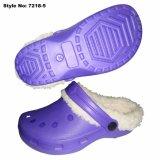 Фиолетовый цвет EVA засорению обувь и Летнее время дети засорению обувь