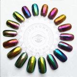 La Decoración de uñas Chrome Efecto espejo de polvo de pigmento Chameleon