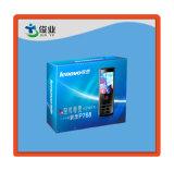 Het blauwe Mobiele Vakje van het Document van de Telefoon Lenovo