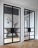 Französische Art-Inneneisen-Tür