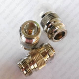 N tapent Jack féminin connecteur coaxial droit femelle d'adaptateur de N Jack au double rf