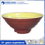 Custom Design пластических масс салат меламина двухцветная чаша