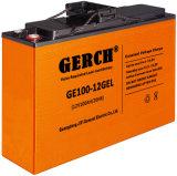 батарея батареи геля 12V 100ah свинцовокислотная для UPS, солнечной силы, энергии ветра, EPS, електричюеский инструмент,
