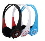 Leichter Stereobaß-Ton verdrahteter Kopfhörer