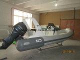 Liya 5.2m steifes Rumpf-Fiberglas-aufblasbare Boots-Rippe