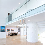 Un design moderne balcon balustrade Frameless Balustrade de clôture de verre